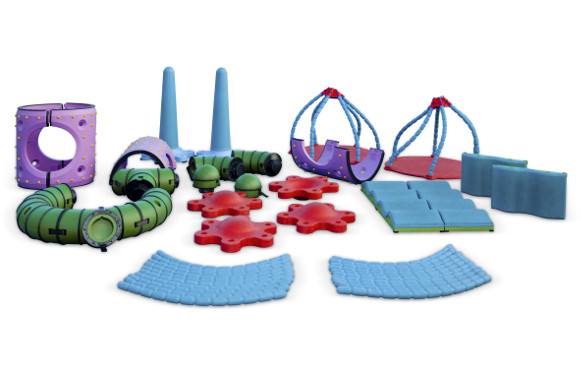 Commercial Playground Equipment - Snug Play Max System - American Parks Company