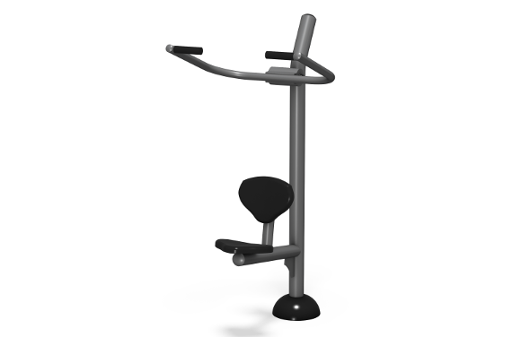 Lat Pull Down - Outdoor Fitness Equipment - American Parks Company
