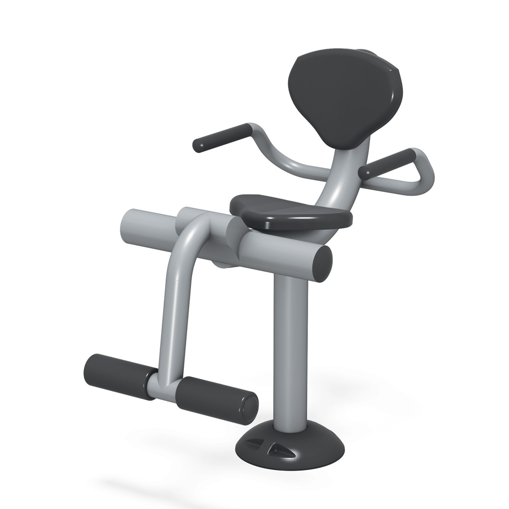 Leg Extension - Outdoor Fitness Equipment - American Parks Company