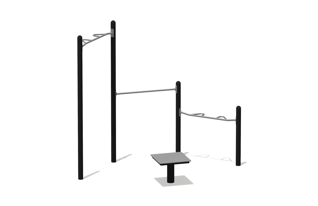multigym - Simple Fitness Kit - Commercial Outdoor Exercise Equipment - American Parks Company