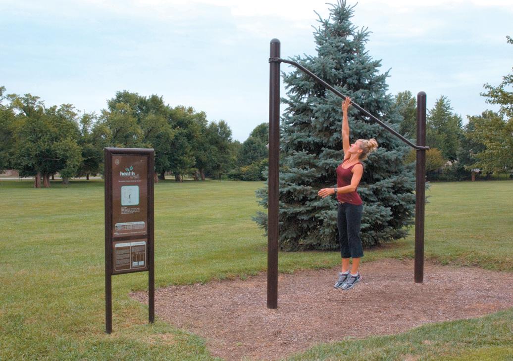 high jump station - outdoor fitness equipment