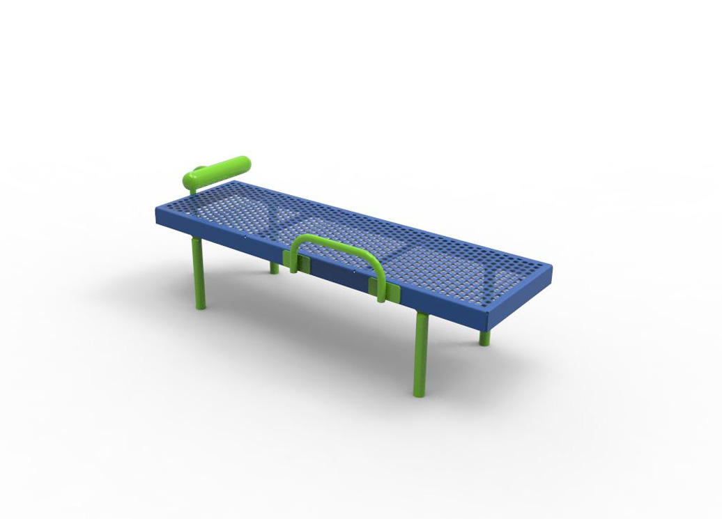 Sit-Up Station | Outdoor Fitness Equipment | American Parks Company
