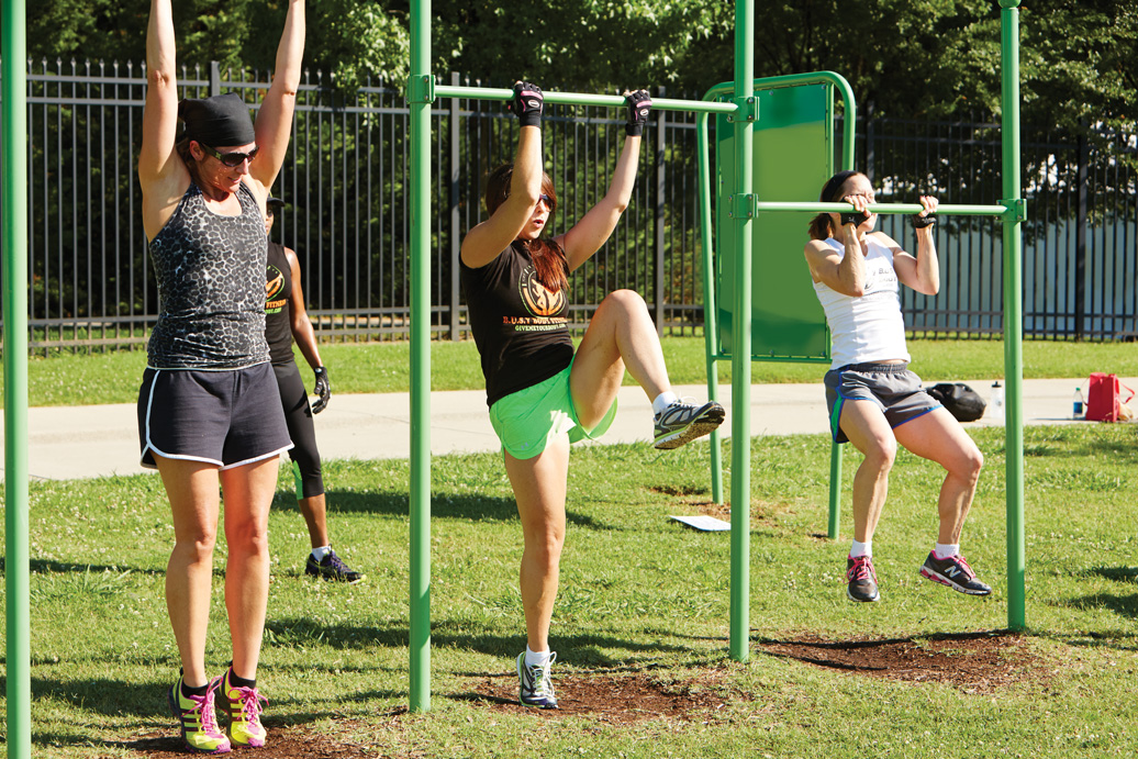 joint use pull up station - outdoor recreation equipment