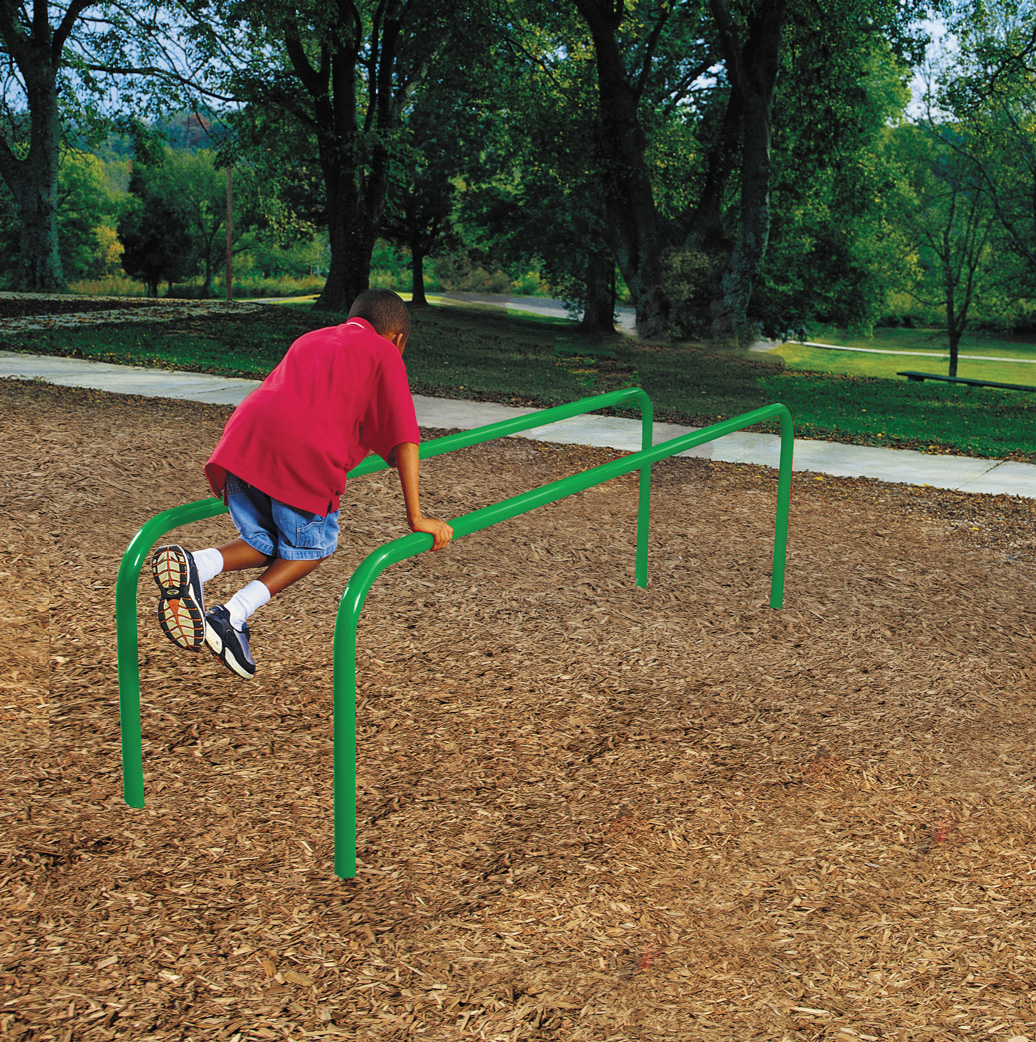 parallel bars - outdoor fitness equipment
