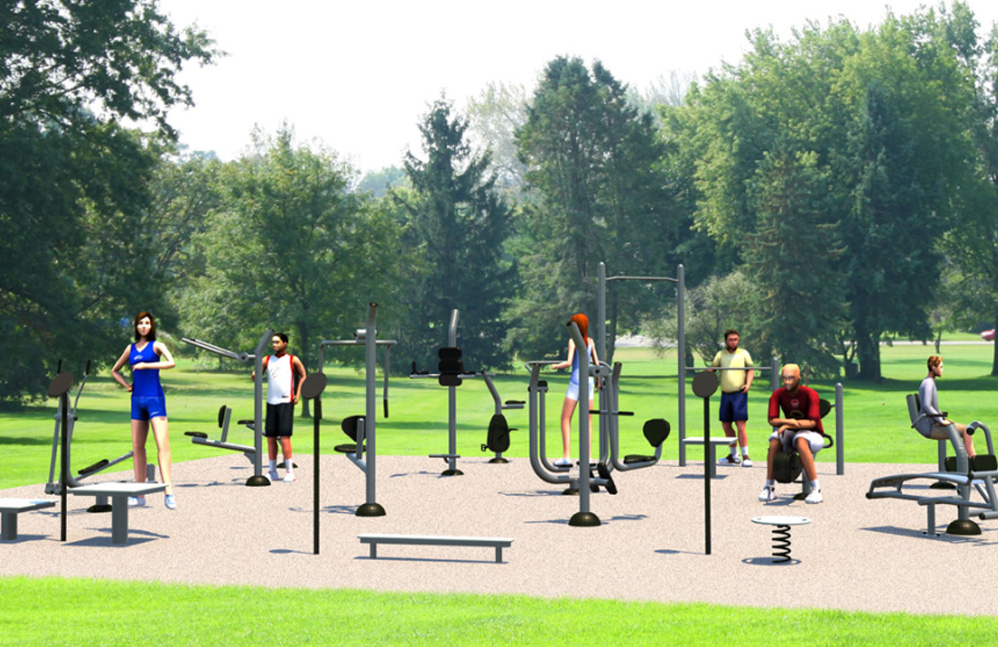 XL Fitness Kit - Outdoor Fitness Equipment - American Parks Company