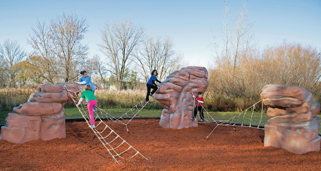 Cascade Range - Commercial Playground Equipment - natural - lifestyle