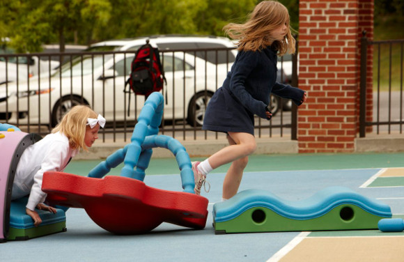 Commercial Playground Equipment - Snug Play Mini System - American Parks Company