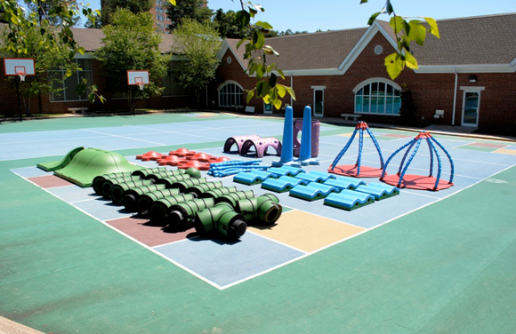 Commercial Playground Equipment - Snug Play Ultimate System - American Parks Company