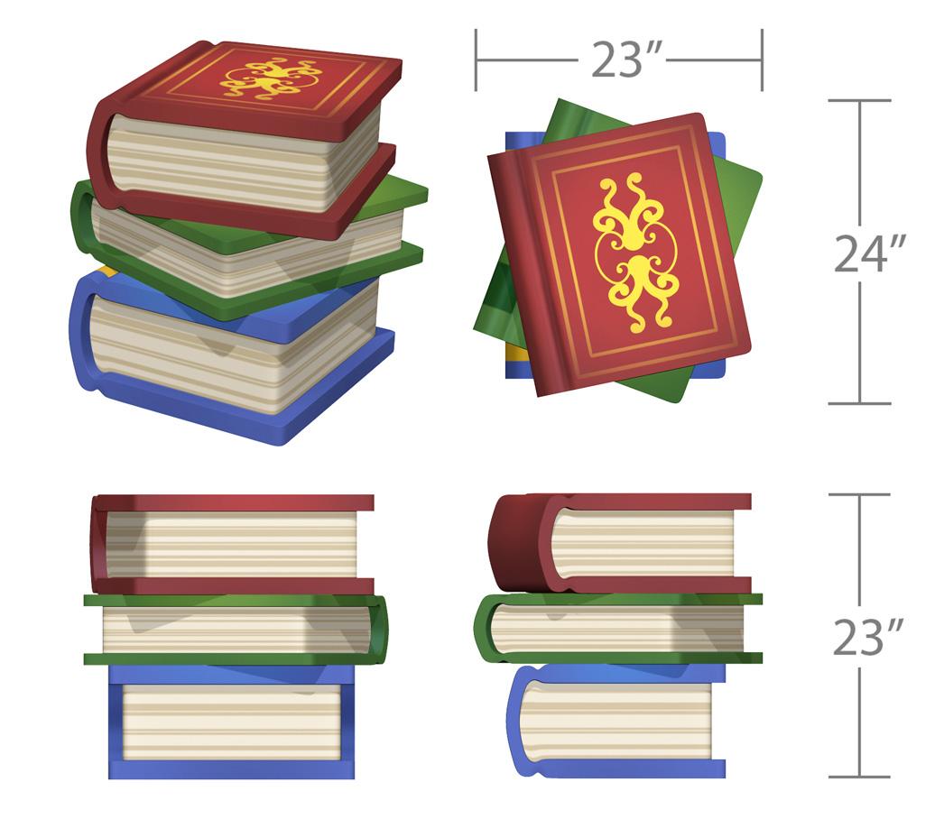 bookworm's Corner - indoor play structure - toddler - book