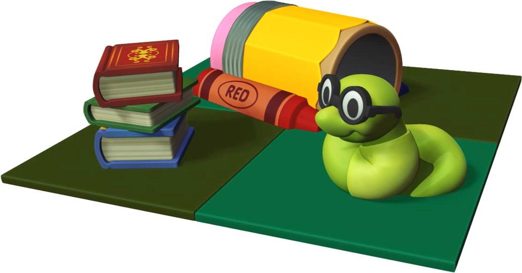 bookworm's Corner - indoor play structure - toddler - front