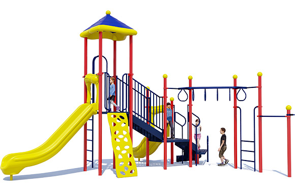 3D Render of Loop D Loop Play Structure