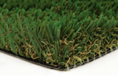 close-up of artificial turf