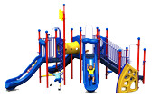 Graphical rendition of a play structure