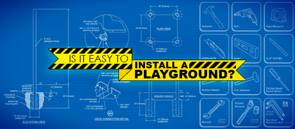 Installing your own commercial playground equipment
