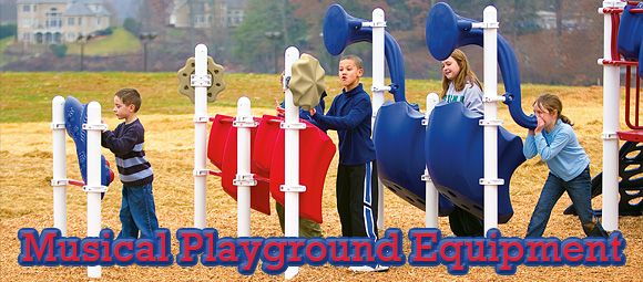 Outdoor Musical Playground Equipment - American Parks Company