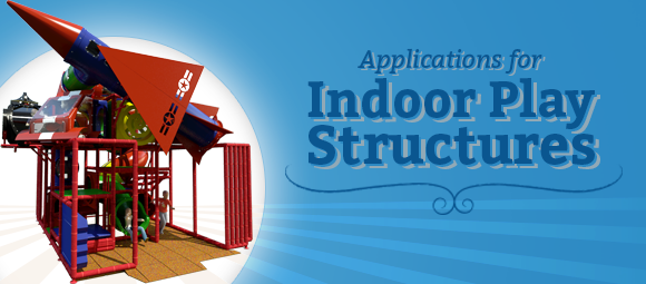 Applications for Indoor Commercial Play Structures